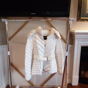 Belted BeBe Puffer Coat